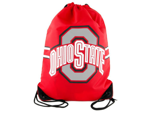 Ohio State Buckeyes Forever Collectibles Team Stripe Drawstring Bag