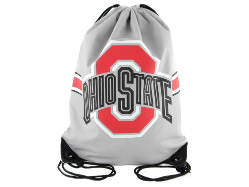 Ohio State Buckeyes Team Stripe Drawstring Bag