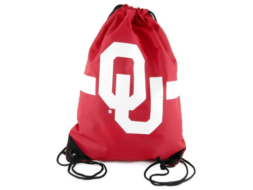 Oklahoma Sooners Forever Collectibles Team Stripe Drawstring Bag