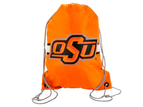 Oklahoma State Cowboys Forever Collectibles Team Stripe Drawstring Bag