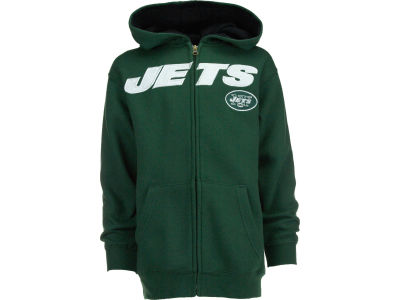 Outerstuff NFL Youth Sportsman Full Zip Fleece Hoodie