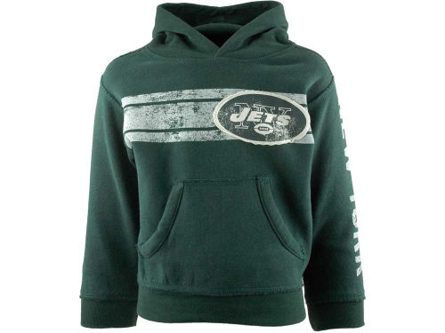 New York Jets Outerstuff NFL Kids Vintage Pullover Fleece