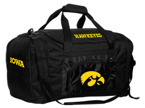 Iowa Hawkeyes NCAA Roadblock Duffle