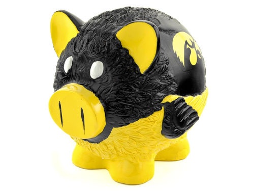 Iowa Hawkeyes Thematic Piggy Bank NCAA