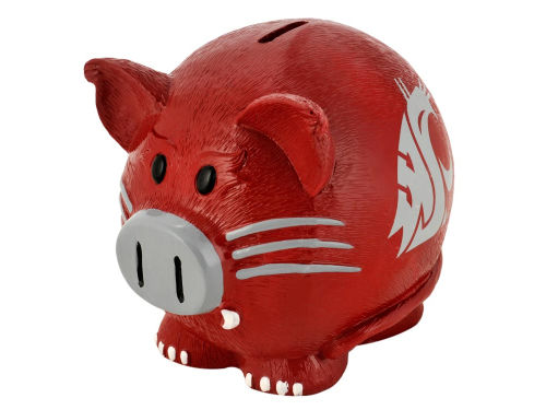 Washington State Cougars Thematic Piggy Bank NCAA