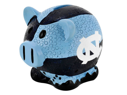 North Carolina Tar Heels Forever Collectibles Thematic Piggy Bank NCAA