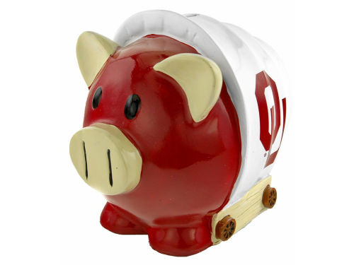 Oklahoma Sooners Thematic Piggy Bank NCAA