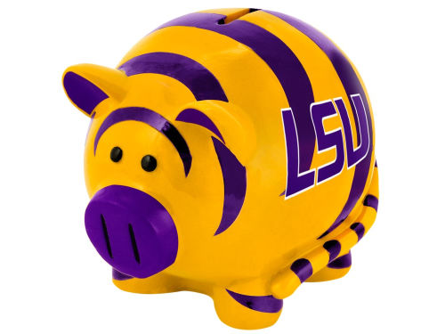 LSU Tigers Forever Collectibles Mini Thematic Piggy Bank NCAA