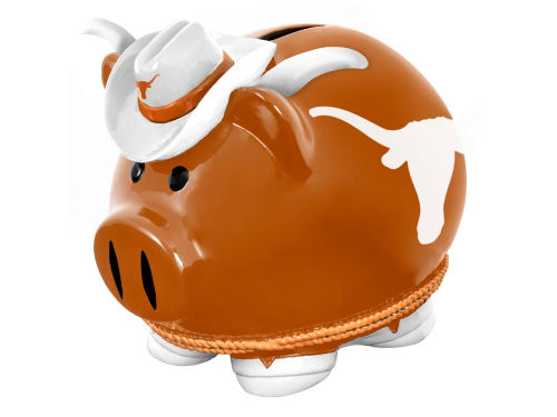 Texas Longhorns Forever Collectibles Mini Thematic Piggy Bank NCAA