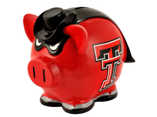 Texas Tech Red Raiders Forever Collectibles Mini Thematic Piggy Bank NCAA