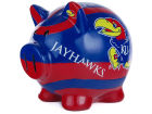 Kansas Jayhawks Forever Collectibles Mural Piggy Bank NCAA Toys & Games