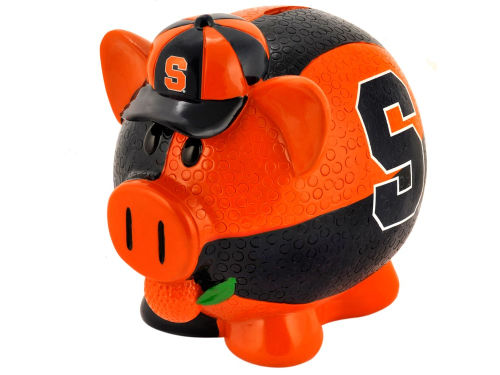 Syracuse Orange Forever Collectibles Thematic Piggy Bank NCAA