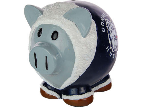 Connecticut Huskies Forever Collectibles Thematic Piggy Bank NCAA