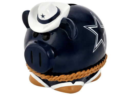 Dallas Cowboys Forever Collectibles Thematic Piggy Bank