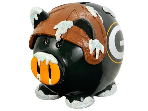 Green Bay Packers Forever Collectibles Thematic Piggy Bank