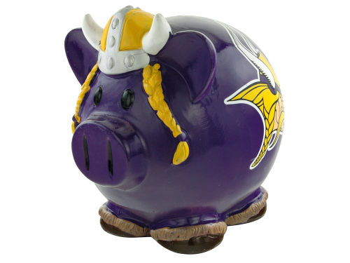 Minnesota Vikings Thematic Piggy Bank-NFL