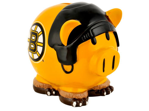 Boston Bruins Forever Collectibles Thematic Piggy Bank-NHL