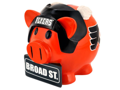 Philadelphia Flyers Forever Collectibles Thematic Piggy Bank-NHL