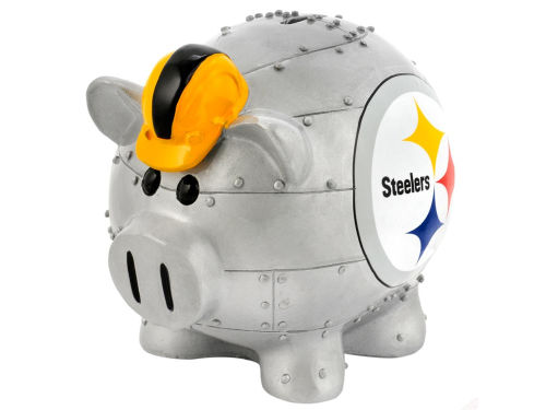 Pittsburgh Steelers Forever Collectibles Mini Thematic Piggy Bank-NFL
