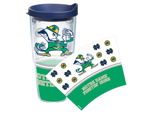 Notre Dame Fighting Irish Tervis Tumbler NCAA 24oz. Wrap Tumbler with Lid