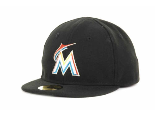 Miami Marlins New Era MLB Authentic Collection 59FIFTY Cap Hats