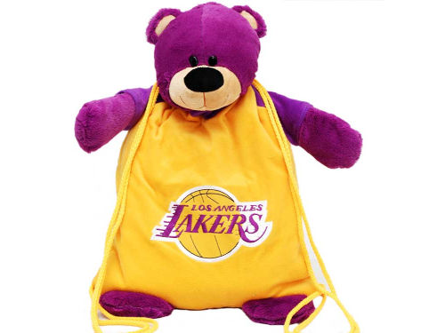 Los Angeles Lakers NBA Backpack Pals