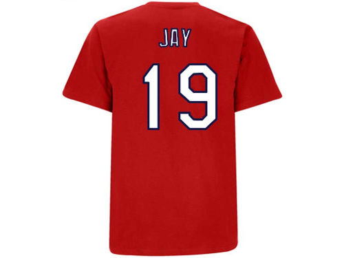 St. Louis Cardinals Jon Jay Majestic MLB Player T-Shirt