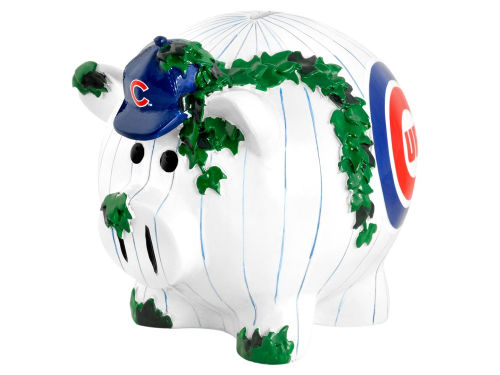 Chicago Cubs MLB Thematic Piggy Bank-Large