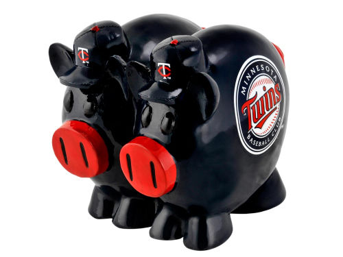 Minnesota Twins MLB Thematic Piggy Bank-Large