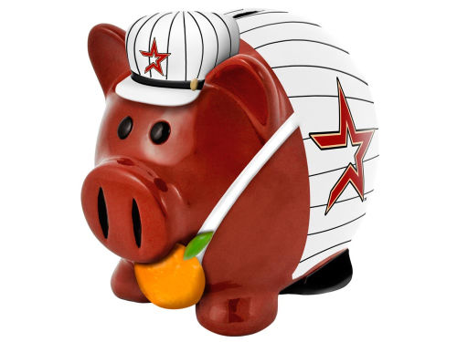 Houston Astros Forever Collectibles MLB Thematic Piggy Bank-Large
