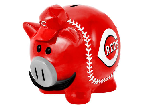 Cincinnati Reds MLB Thematic Piggy Bank-Large