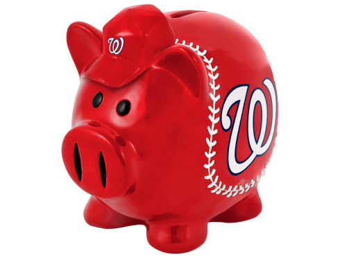 Washington Nationals MLB Thematic Piggy Bank-Large