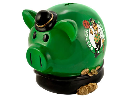 Boston Celtics NBA Thematic Piggy Bank-Large