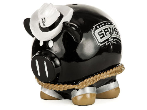 San Antonio Spurs NBA Thematic Piggy Bank-Large