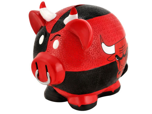 Chicago Bulls NBA Thematic Piggy Bank-Large