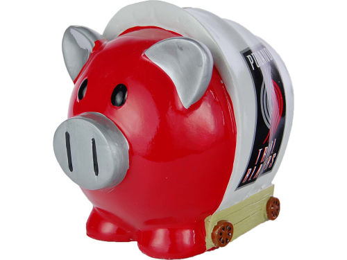 Portland Trail Blazers NBA Thematic Piggy Bank-Large