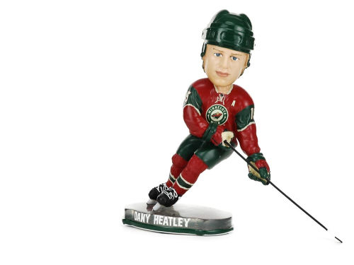 Minnesota Wild Dany Heatley Forever Collectibles Action Pose Bobble-NHL