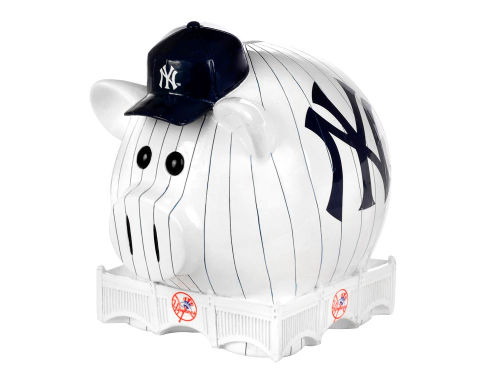 New York Yankees MLB Thematic Piggy Bank-Small