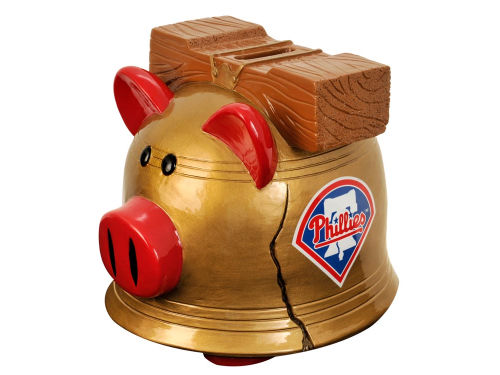 Philadelphia Phillies MLB Thematic Piggy Bank-Small