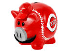 Cincinnati Reds Forever Collectibles MLB Thematic Piggy Bank-Small