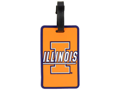 Illinois Fighting Illini Aminco Inc. Soft Bag Tag