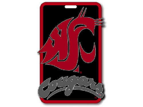 Washington State Cougars Soft Bag Tag