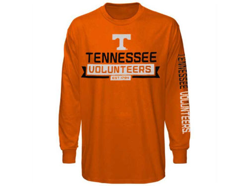 Tennessee Volunteers Outerstuff NCAA Youth Balanced Long Sleeve T-Shirt