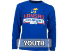 Kansas Jayhawks Outerstuff NCAA Youth Balanced Long Sleeve T-Shirt T-Shirts