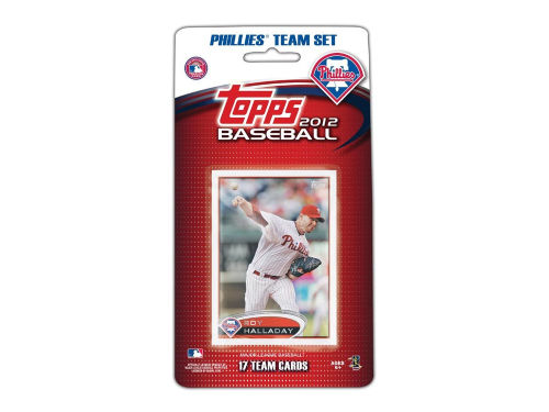 Philadelphia Phillies 2012 MLB Team Card Set