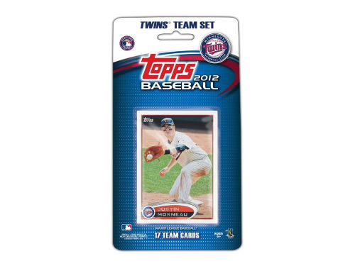 Minnesota Twins 2012 MLB Team Card Set