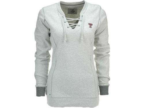 Texas Tech Red Raiders Antigua NCAA Womens Huddle Long Sleeve Top