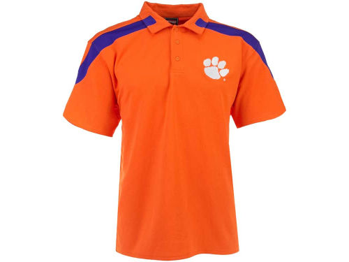 Clemson Tigers Outerstuff NCAA Color Insert Polo