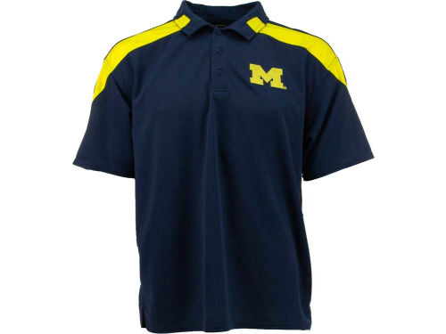 Michigan Wolverines Outerstuff NCAA Color Insert Polo