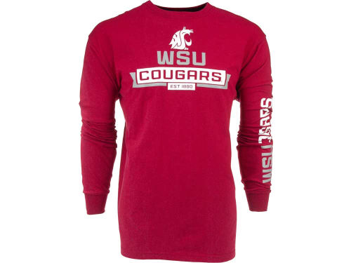 Washington State Cougars Outerstuff NCAA Balanced Long Sleeve T-Shirt
